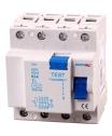 Áramvédő 40A 4P 30MA életvédelmi FI-relé 3 Fázisú 4 Pólusú 30 Milliamperes