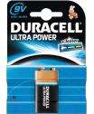 Duracell Ultra Power 9 Volt, 6LR6, MN1604 alkáli tartós elem