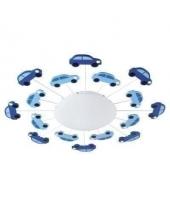 EGLO 92146 VIKI gyermek mennyezeti lámpa 1×60W E27 kék/fehér autós,63cm átmérő