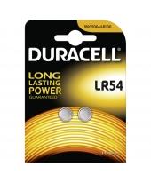 Duracell LR54, AG10, 189, CR1130 1,5 Volt alkáli tartós Gomb elem