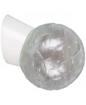 RÁBALUX 2432 GRACE fali lámpa 1×60W E27 gömb búra, ferde alj