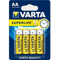 Varta Superlife Heavy Duty féltartós AA, R6, SUM3, MN1500, 15A, Mignon 1,5 Volt ceruza elem