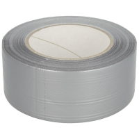 Workzone Power Tape jó minőségű, szövetszál erősítésű ragasztó szalag 50m hósszú, 5cm széles szürke