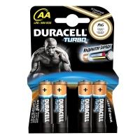Duracell Turbo AA, LR6, AM3, MN1500 1,5 Volt alkáli tartós ceruza elem + Ajándék mágnes