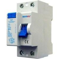 Áramvédő 40A 2P 300MA életvédelmi FI-relé  1 Fázisú  2 Pólusú 300 Milliamperes