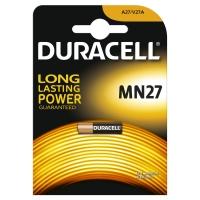 Duracell MN27, A27, LR27A 12 Volt alkáli tartós riasztó távirányító elem