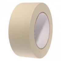 Festőszalag 25mm széles 50m/tekercs, papír maszkolószalag belső festési ragasztási munkákhoz