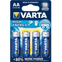 Varta High Energy AA, LR6, AM3, MN1500 1,5 Volt alkáli tartós ceruza elem