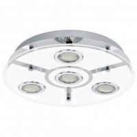 EGLO 13531 CABO mennyezeti lámpa 4×3W GU10 ledel szerelve,kör