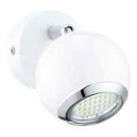 EGLO 31001 BIMEDA szpot lámpa 1×2,5W GU10 leddel szerelt,fehér,meleg fehér