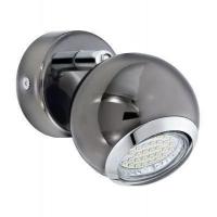 EGLO 31005 BIMEDA szpot lámpa 1×2,5W GU10 leddel szerelt,szürke,meleg fehér