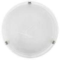 EGLO 7186 SALOME mennyezeti lámpa 1×60W E27 króm/alabástrom búra,30cm