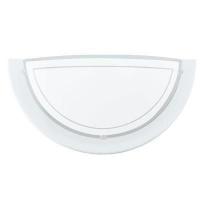 EGLO 83154 PLANET fali lámpa 1×60W E27 fehér/opál búra 29cm átmérőjű,félkör