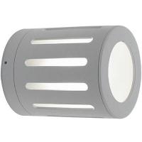 EGLO 90172 TORBAY kültéri fali lámpa 1×33W G9 alumínium henger/fehér búrával,12cm átmérőjű