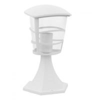 EGLO 93096 ALORIA kültéri álló lámpa 1×60W E27 fehér/átlátszó műanyag búra,30 cm magas
