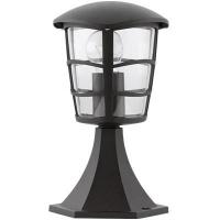 EGLO 93099 ALORIA kültéri álló lámpa 1×60W E27 fekete/átlátszó búra,30cm magas