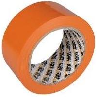 Festőszalag kültéri UV álló PVC ragasztószalag 38mm széles 33m/tekercs, 397 narancs
