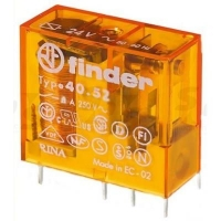 RELÉ FINDER 240V/AC 8/15A 8P 2CO