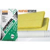 KingStone Mineral-Kleber ragasztótapasz kőzatgyapot hőszigeteléshez 25 kg