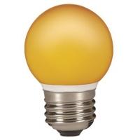 SYLVANIA LED GÖMB E27 0,5W NARANCS IP44