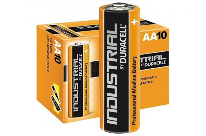 Duracell Industrial AA, LR6, AM3, MN1500 1,5 Volt  alkáli tartós ceruza elem P10
