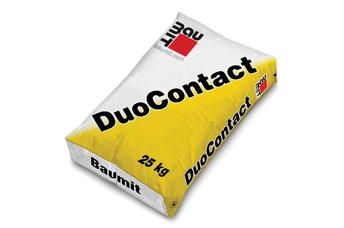 Baumit DuoContact hőszigetelő EPS ragasztótapasz 25 kg