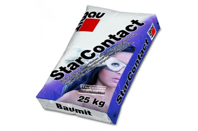 Baumit StarContact hőszigetelő ásványi lapok ragasztó és ágyazó tapasza 25 kg
