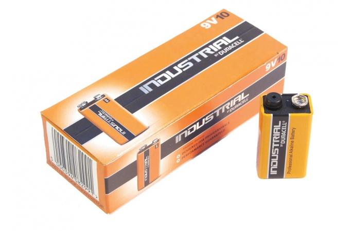 Duracell Industrial 9 Volt, 6LR6, MN1604 alkáli tartós elem P10-1