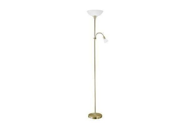 EGLO 82844 UP 2 álló lámpa 1×100W E27+1×40W E14 bronz színű,178 cm magas