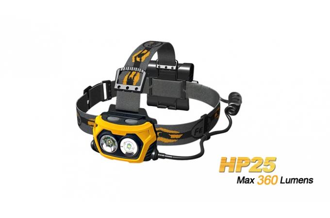 FENIX FEJLÁMPA HP25 LED (360 LUMEN)